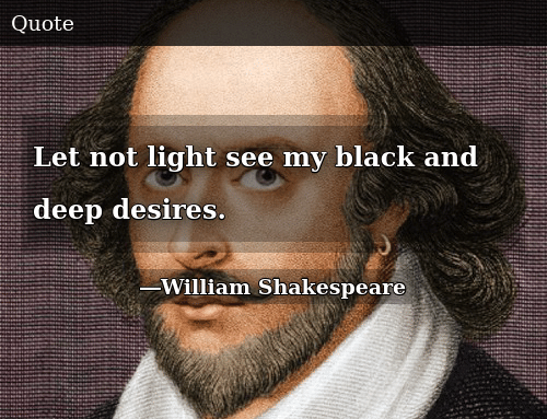 Expo Stands Lightsee : Let not light see my black and deep desires donald trump meme on me.me