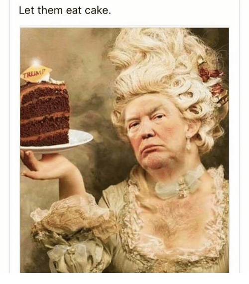 Image result for let them eat cake
