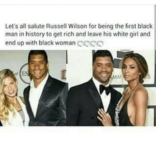 lets all salute russell wilson for being the first black 23732929 let's all salute russell wilson for being the first black man in