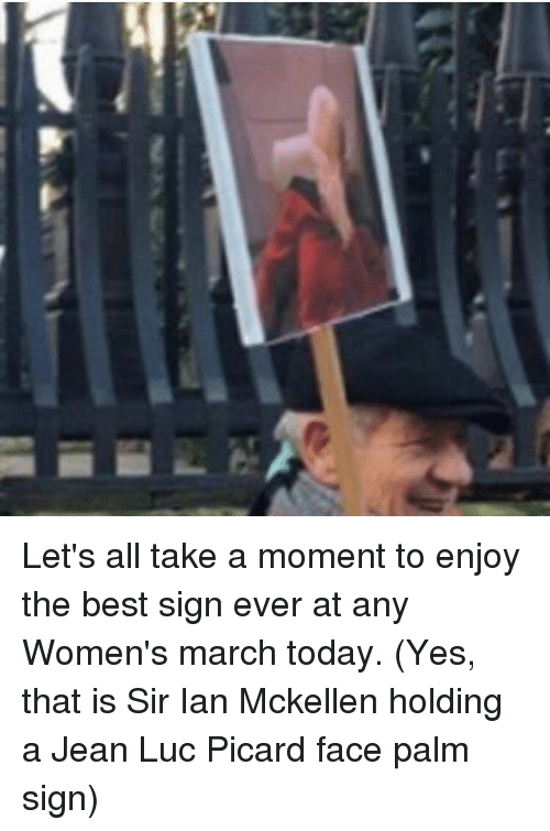 Lets All Take A Moment To Enjoy The Best Sign Ever At Any Womens