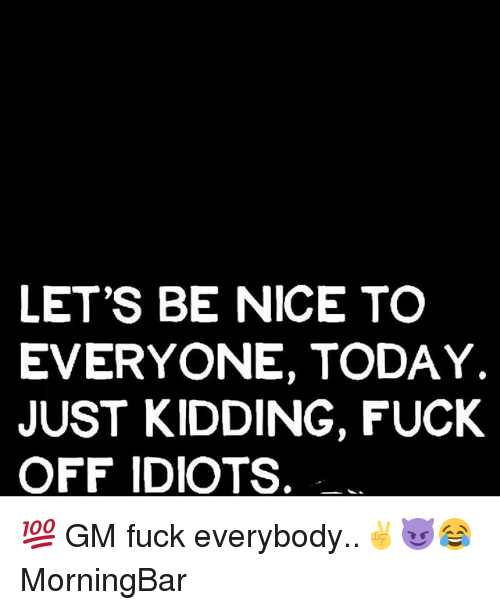 Lets fuck today
