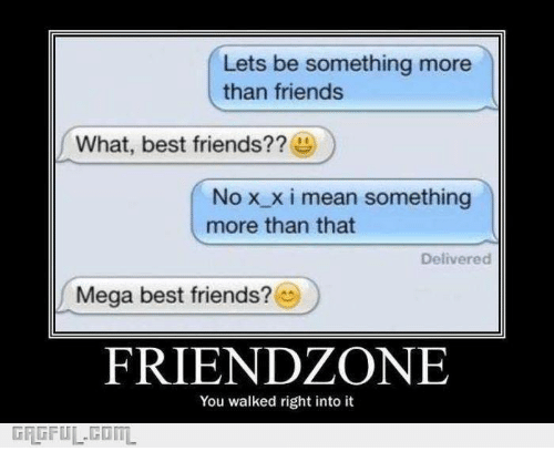 What does more than friends mean