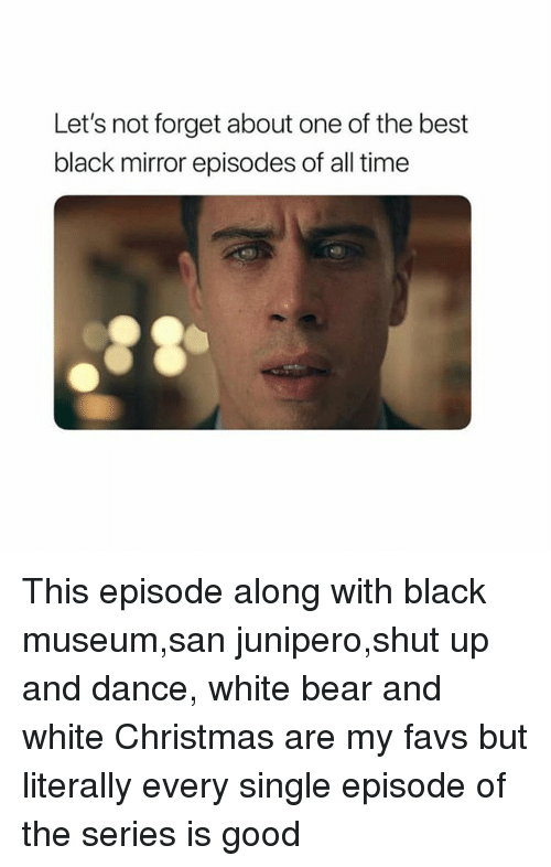 White Christmas Black Mirror Poster.Let S Not Forget About One Of The Best Black Mirror Episodes
