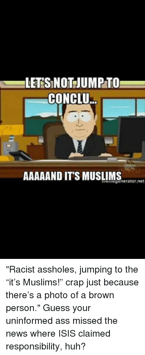 Have removed muslim ass holes criticism write