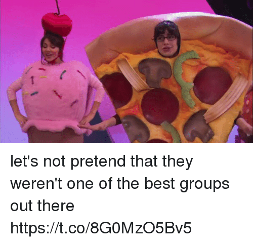 Funny, Best, and One: let's not pretend that they weren't one of the best groups out there https://t.co/8G0MzO5Bv5