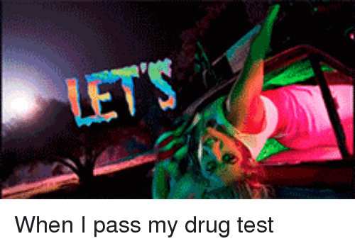lets when i pass my drug test test meme on me me