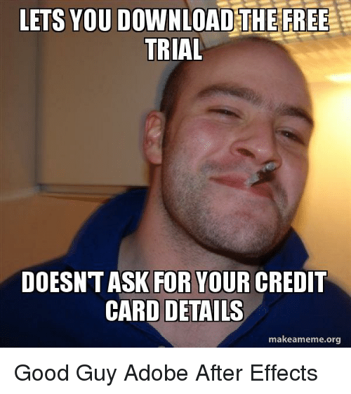 LETS YOU DOWNLOAD THE FREE TRIAL DOESNTASK FOR YOUR CREDIT CARD
