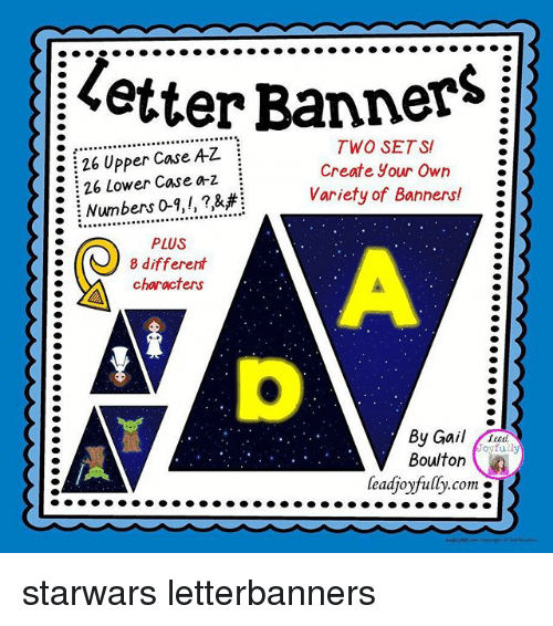 letter banners two sets 26 upper case az i create your own 26 lower