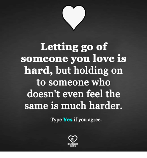 Letting someone you love go quotes