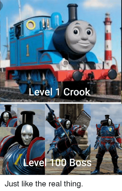 Anaconda, The Real, and Boss: Level 1 Crook  Level 100 Boss Just like the real thing.