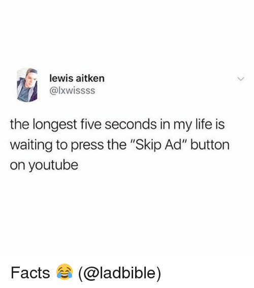 ad9e78098ed Lewis Aitken the Longest Five Seconds in My Life Is Waiting to Press ...