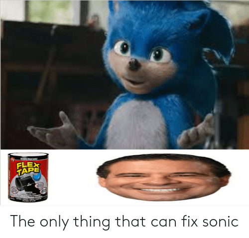 Sonic, Can, and Thing: LEX  TAPE The only thing that can fix sonic
