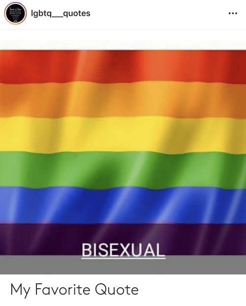 Bisexual Quotes 1