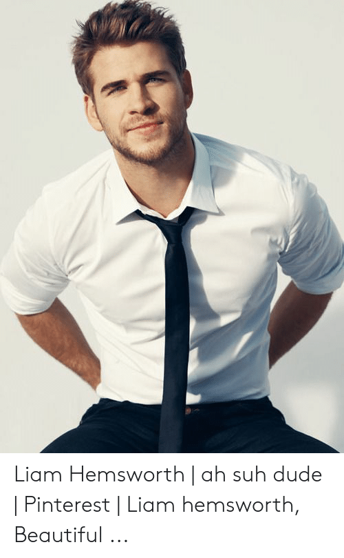 379af3d10b98b4 Beautiful, Dude, and Pinterest: Liam Hemsworth | ah suh dude | Pinterest