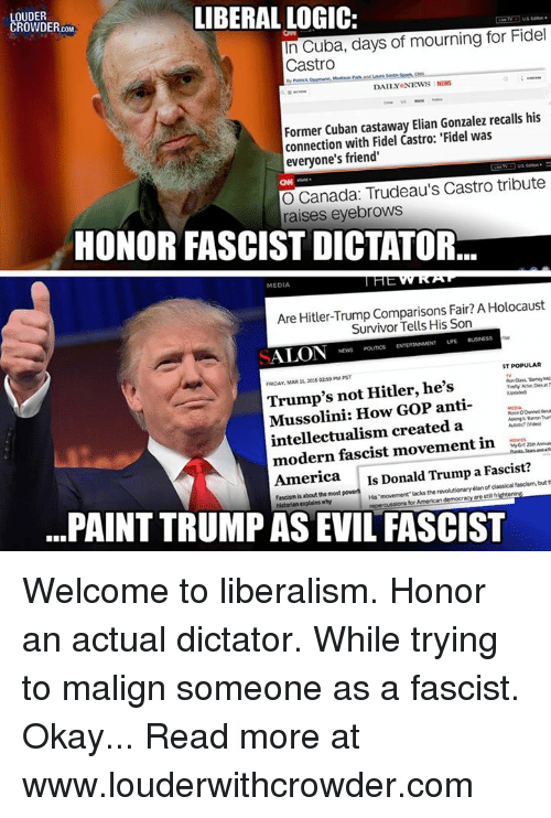 Liberal Logic Louder Crowder In Cuba Days Of Mourning For Fidel