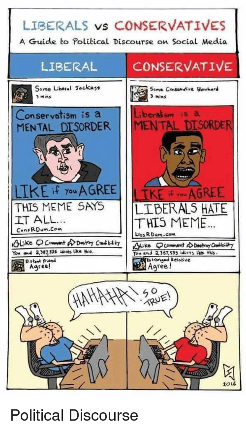 ✅ 25+ Best Memes About Liberal vs Conservative | Liberal vs ...