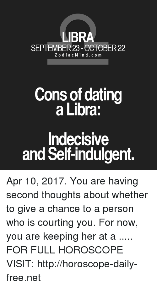 Dating a libra