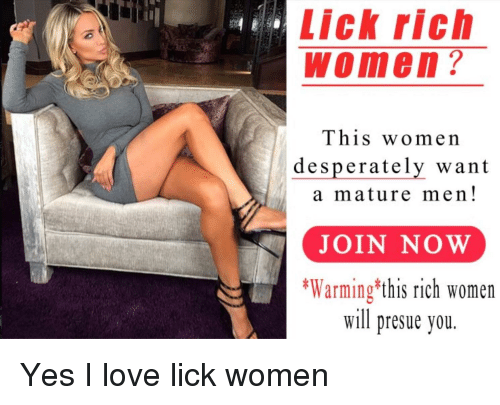 Rich women seeking men in milwaukee