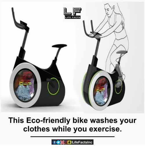 Exercise Bike That Washes Clothes