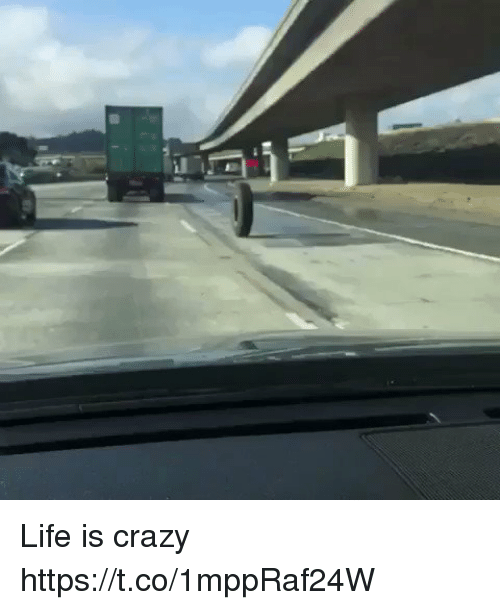 Crazy, Life, and Memes: Life is crazy https://t.co/1mppRaf24W