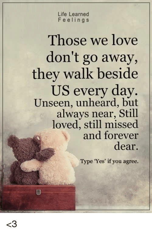 They Walk Besid Us Every Day Those We Love Don T Go Away Unseen Unheard Wvpd Org