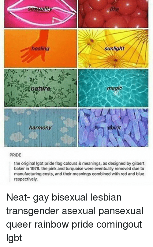 Bisexual flag colors meaning