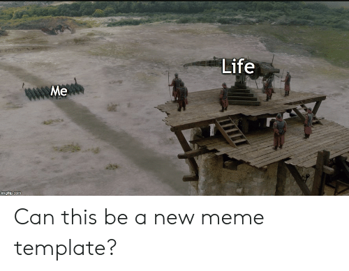 Life Me Imgfiipcom Can This Be A New Meme Template Life Meme On Me Me