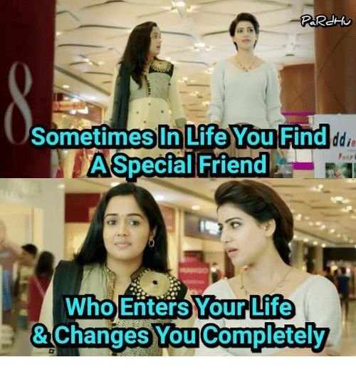 Life You Find Sometimes In Life You Find A Special Friend Who