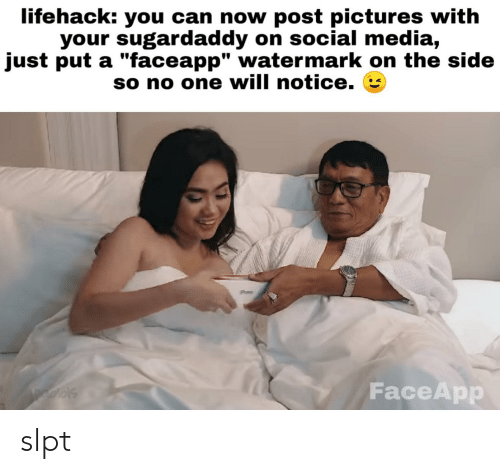 Lifehack You Can Now Post Pictures With Your Sugardaddy on Social