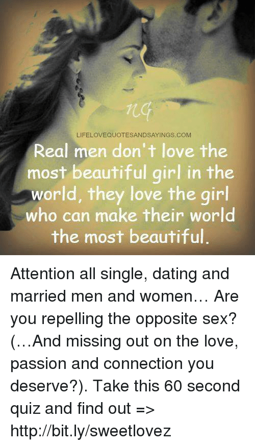 Dos and donts of dating a married man