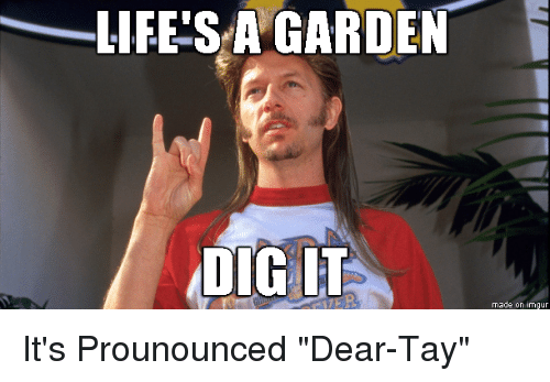 imgur dig and dears lifes a garden dig it made on imgur - Lifes A Garden Dig It