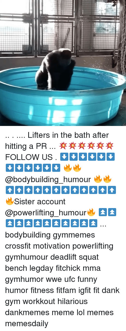 Lifters in the Bath After Hitting a PR 💥💥💥💥💥💥 FOLLOW US ...