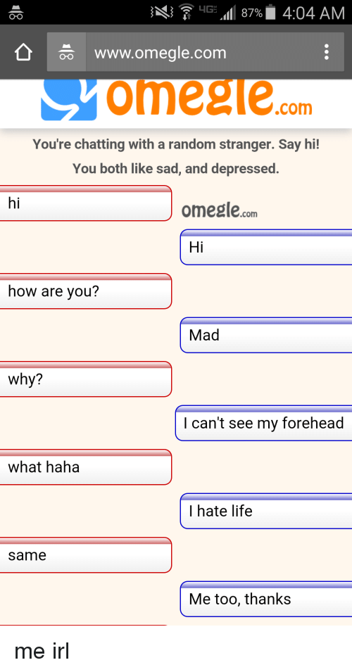Www omegle chat