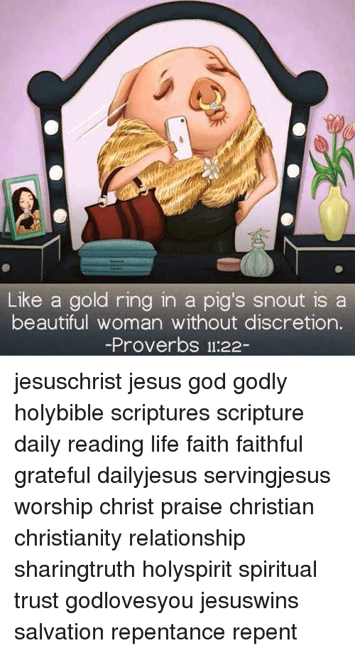 How to praise a beautiful woman