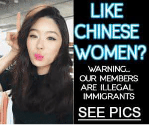 Like chinese women