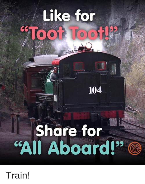 Image result for toot too all aboard