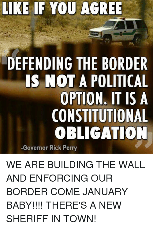 Is It Constitutional To Build A Wall