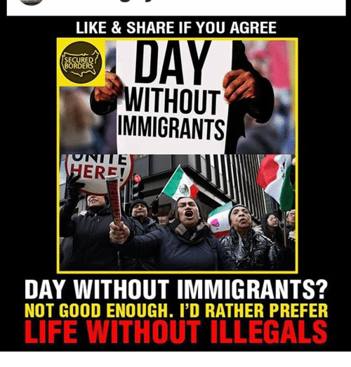 like share if you agree secured borders without immigrants 14794225 like & share if you agree secured borders without immigrants ere