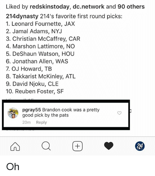 Liked by Redskinstoday Dcnetwork and 90 Others 214dynasty