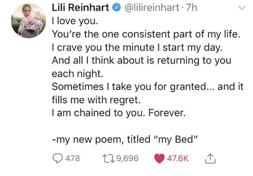 Lili Reinhart At Lilireinhart 7h I Love You Youre The One Consistent