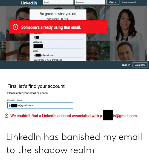 Linked in Sign in Email Password Forgot Password? Be Great at What