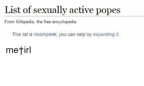 List of sexually active popes Nude Photos 91