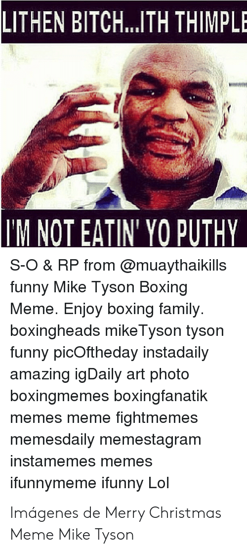 LITHEN BITCH TH THIMPLE M NOT EATIN YO PUTHY S-O & RP From Funny