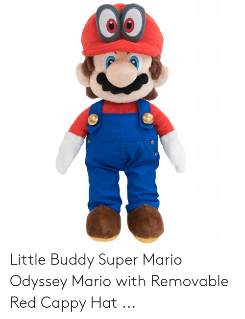 Little Buddy Super Mario Odyssey Mario With Removable Red