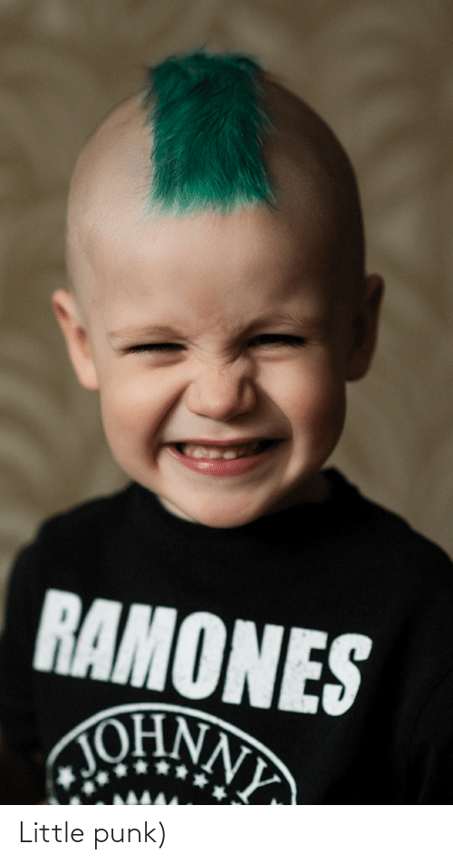 Funny, Punk, and Little: Little punk)