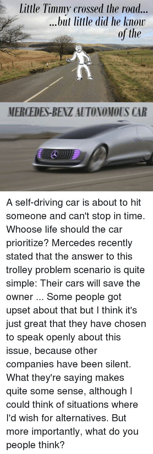 25+ Best Self Driving Memes | Intersectionality Memes, Self