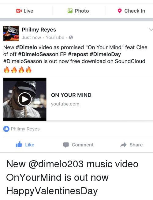 Live 9 Check In O Photo Philmy Reyes Just Now Youtube New Dimelo