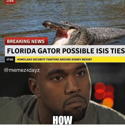 Live Breaking News Florida Gator Possible Isis Ties 1701 H Homeland