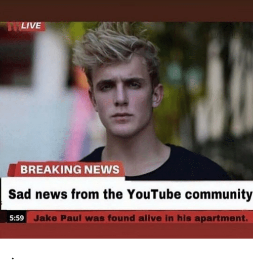 LIVE BREAKING NEWS Sad News From the YouTube Community 559
