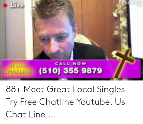 Live local chat line